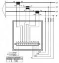 CVM 144 - Трехфазный щитовой анализатор качества электроэнергии