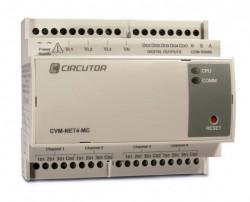 CVM NET4 - Анализатор качества электроэнергии на DIN рейку 4 датчика в едином корпусе