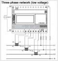 CVM BDM - Трехфазный анализатор качества электроэнергии на DIN рейку
