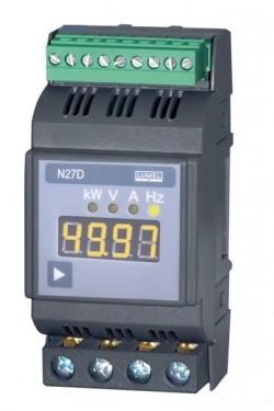 N27D - Анализатор параметров однофазной сети с креплением на DIN рейку