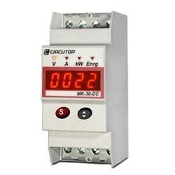 MK-DC - Измеритель параметров постоянного тока, напряжения и энергии на DIN рейку